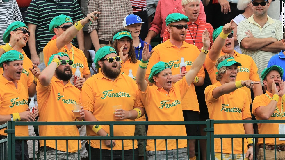 And the fans of the international team were in full voice. They'd love to see the visitors win, but the international team has only triumphed once since the tournament began in 1994.