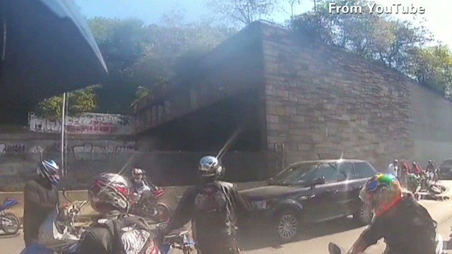 Off-duty officers there for biker clash