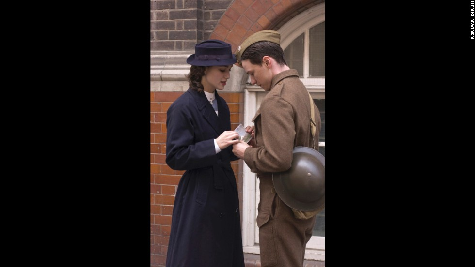 """Atonement,"" the 2007 film based on Ian McEwan's novel, features the main character apologizing to the reunited couple played by Keira Knightley and James McAvoy for forcing their separation with a youthful lie. But it turns out that the apology -- and reunion -- never happened, for both died during World War II."