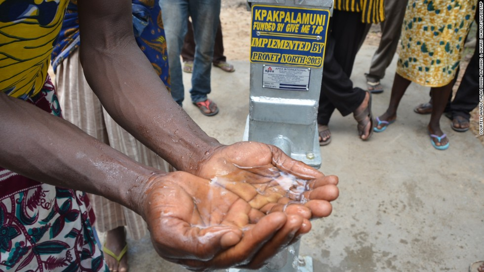 """Here is a product and viable service (that can) directly impact the lives of people in Africa where there are some 300 million people without water,"" he says."