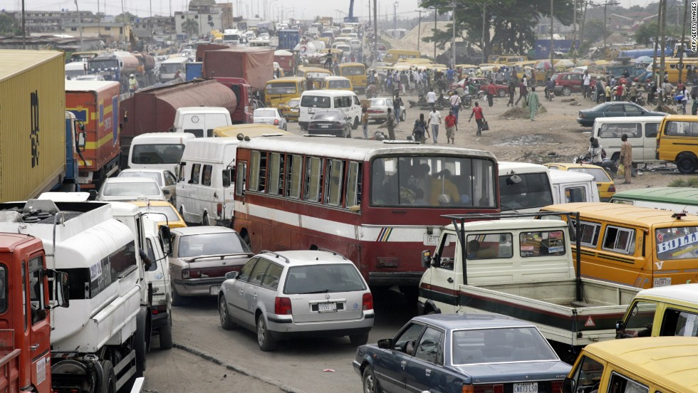 Lagos is famously over-crowded and the Lagos Rail Mass Transit is to be the first modern metro system in Sub-Saharan Africa outside of South Africa. Construction is underway on the initial 8km section.