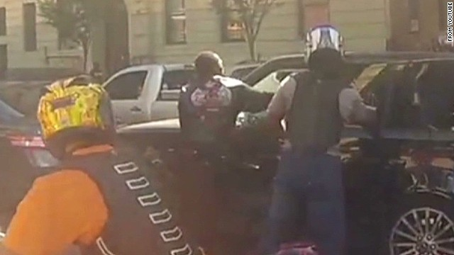 New details emerge in biker, SUV clash