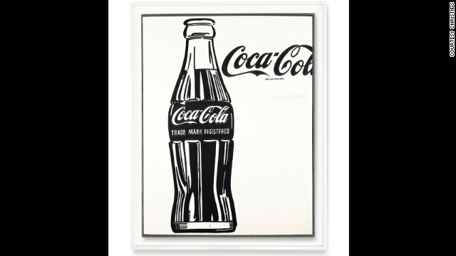 "Andy Warhol's ""Coca-Colca (3)"" will be up for auction at Christie's on November 12."