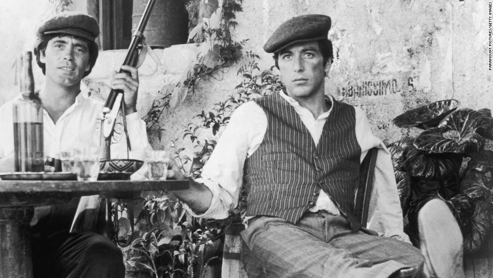 "Mob members these days probably won't be sporting a traditional coppola cap, as Al Pacino does in this scene from ""The Godfather."" Doesn't mean you won't have met a mafioso, though."