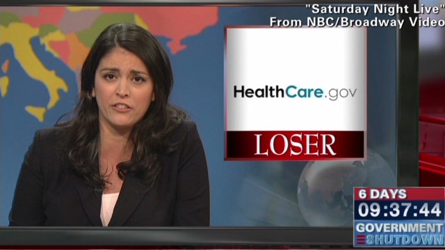 'SNL' riffs on online Obamacare troubles