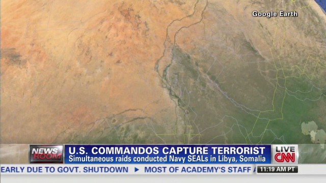 U.S. commandos capture terrorist