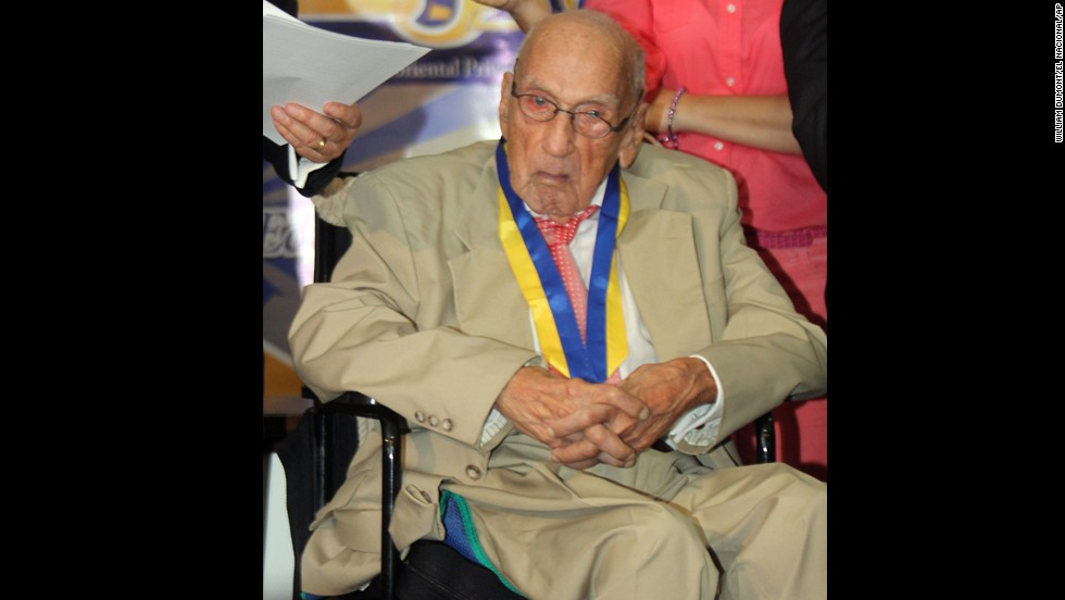 Dr. Jacinto Convit, a Venezuelan researcher, is best known for developing the leprosy vaccine. In 1988, he was nominated for a Nobel Prize in medicine. He's 100 years old and still working -- now on a vaccine to fight cancer.