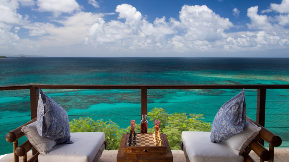 Play chess with friends or family while enjoying Necker Island's breathtaking views.
