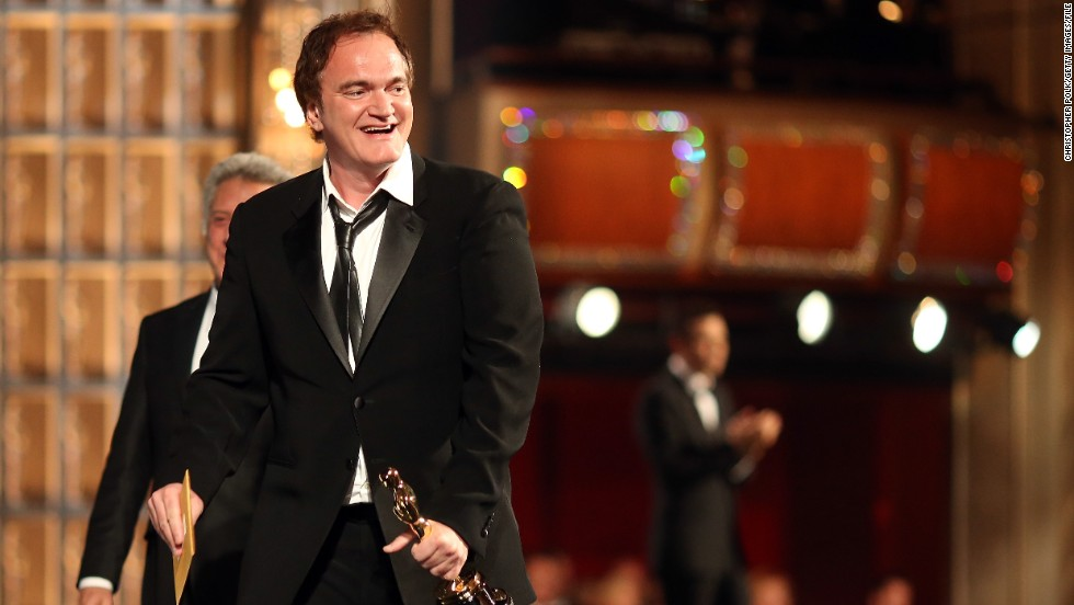 "In January 2013, director Quentin Tarantino was doing press for his film ""Django Unchained"" when Britain's Channel 4 reporter Krishnan Guru-Murthy asked him whether he thinks movie violence can lead to actual violence. Tarantino shot back, saying:<a href=""http://www.youtube.com/watch?v=GrsJDy8VjZk"" target=""_blank""> ""You can't make me dance to your tune. I'm not a monkey,"" and ""I'm shutting your butt down!""</a>"