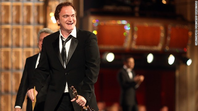 Oscar winning screenwriter and director Quentin Tarantino says he is still working on the script for the Western.