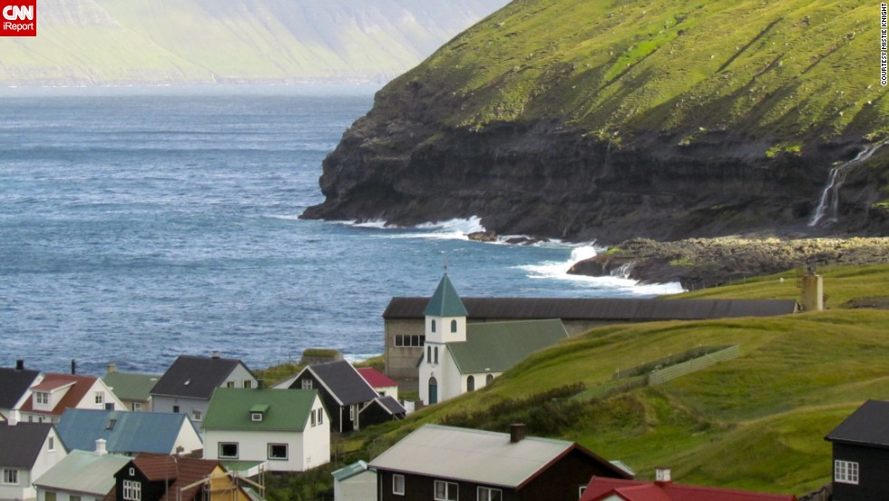 To iReporter Mistie Knight and her husband, Denmark's Faroe Islands seemed magical. They should know. They're Las Vegas-based illusionists who often travel and perform on cruise lines across the world.