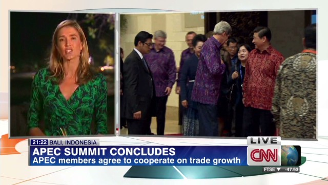What happened at the APEC Summit