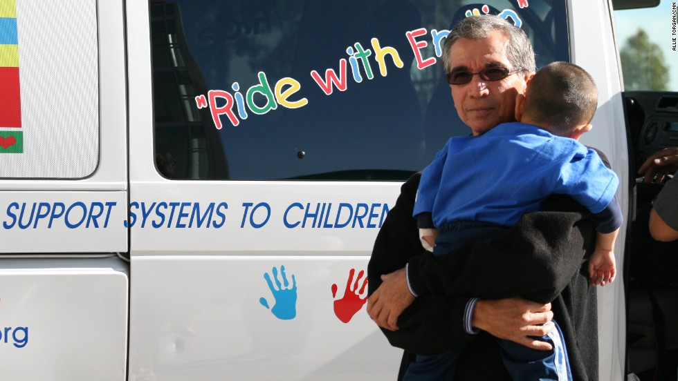 "For many children fighting cancer, it can be extremely tough to make it to their chemotherapy appointments. But <a href=""http://www.cnn.com/SPECIALS/cnn.heroes/2013.heroes/richard.nares.html"">Richard Nares</a> started a group that gives them transportation and support. ""No child should miss their cancer treatment due to lack of transportation,"" said Nares, who lost his son to leukemia in 2000."