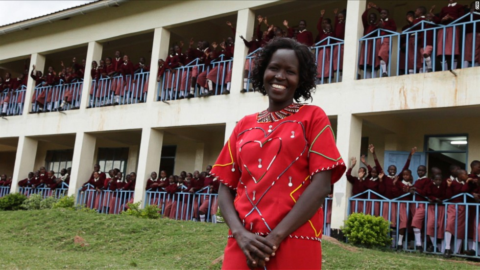 "<a href=""http://www.cnn.com/SPECIALS/cnn.heroes/2013.heroes/kakenya.ntaiya.html"">Kakenya Ntaiya</a> is inspiring change in her native Kenyan village. After becoming the first woman in the village to attend college in the United States, she returned to open the village's first primary school for girls. ""Our work is about empowering the girls,"" Ntaiya said. ""They are dreaming of becoming lawyers, teachers, doctors."""