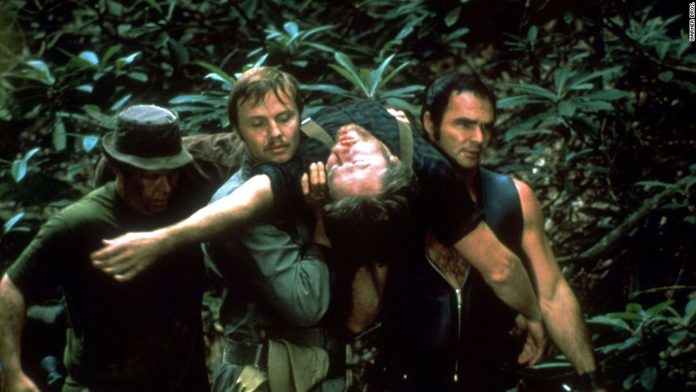 "Four men get away from their city lives by taking a canoe trip along a north Georgia river. What could go wrong? In <strong>""Deliverance""</strong> (1972), quite a bit. Burt Reynolds and Jon Voight star, though Ned Beatty is the subject of the most memorable scene. <em>Lesson:</em> The country is nice, but you might want to make friends with the locals."