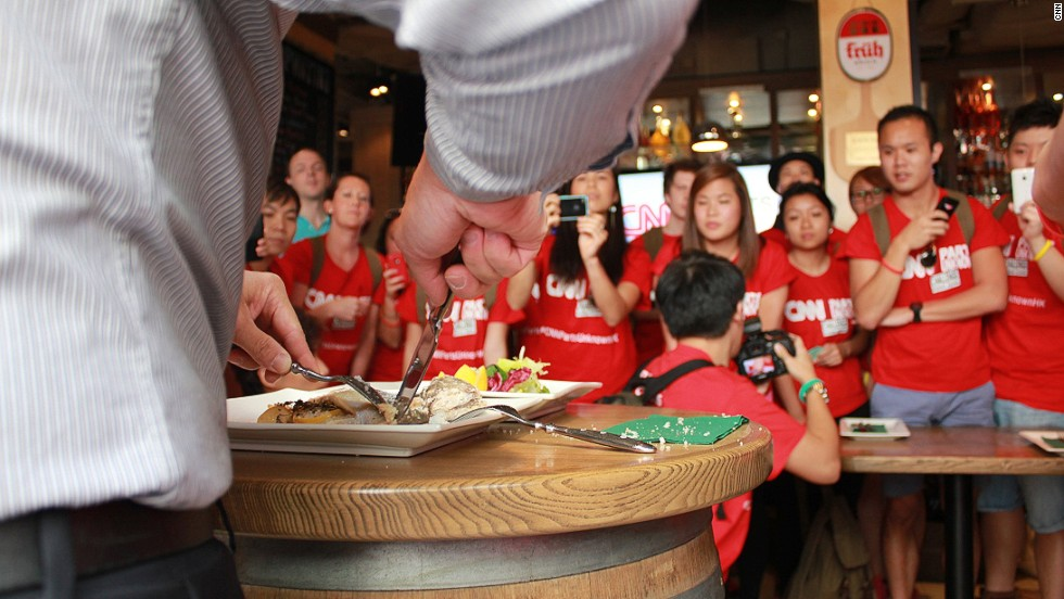 The CNN Parts Unknown Challenge sent 12 teams of two racing through the streets of Hong Kong to complete a series of food-related challenges. Teams competed for a trip to Tokyo, as well as private, customized tours of Hong Kong with Little Adventures travel company.