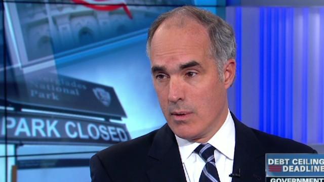 exp Lead intv Sen Bob Casey government shutdown debt ceiling_00010719.jpg