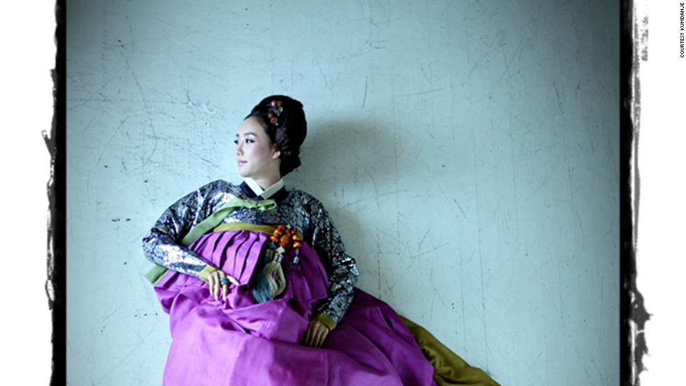 Korea's traditional dress isn't as well known overseas as its Japanese and Chinese counterparts.