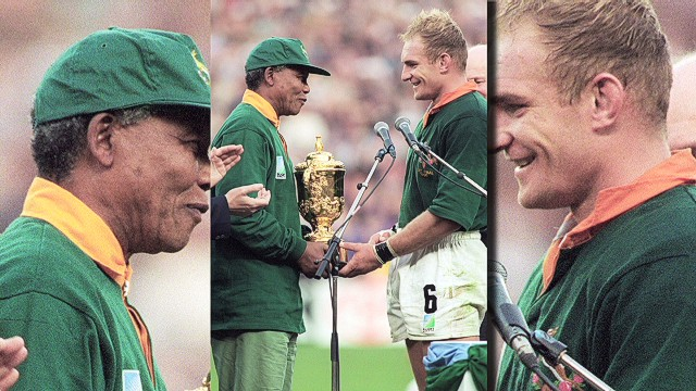 Rugby great: I would've hugged Mandela