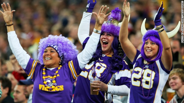 NFL was a hit with the European fans when the Minnesota Vikings played the Pittsburgh Steelers