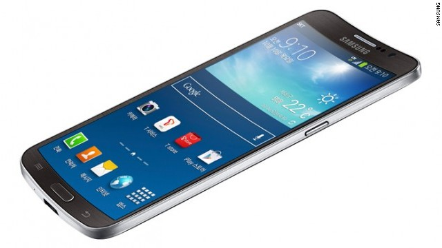 Samsung's curved Galaxy Round will be released in South Korea. It's unclear if it will later be available elsewhere.