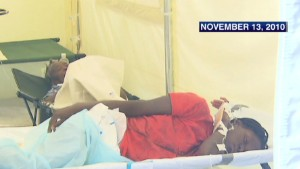 U.N. blamed for Haitian cholera outbreak