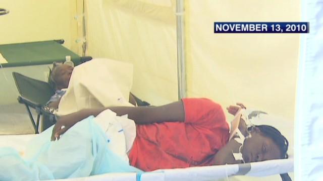 U.N. blamed for Haitian cholera outbreak