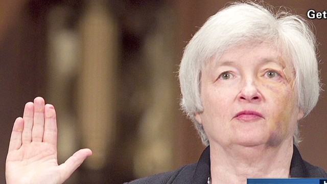 Janet Yellen: 'Small lady with large IQ'
