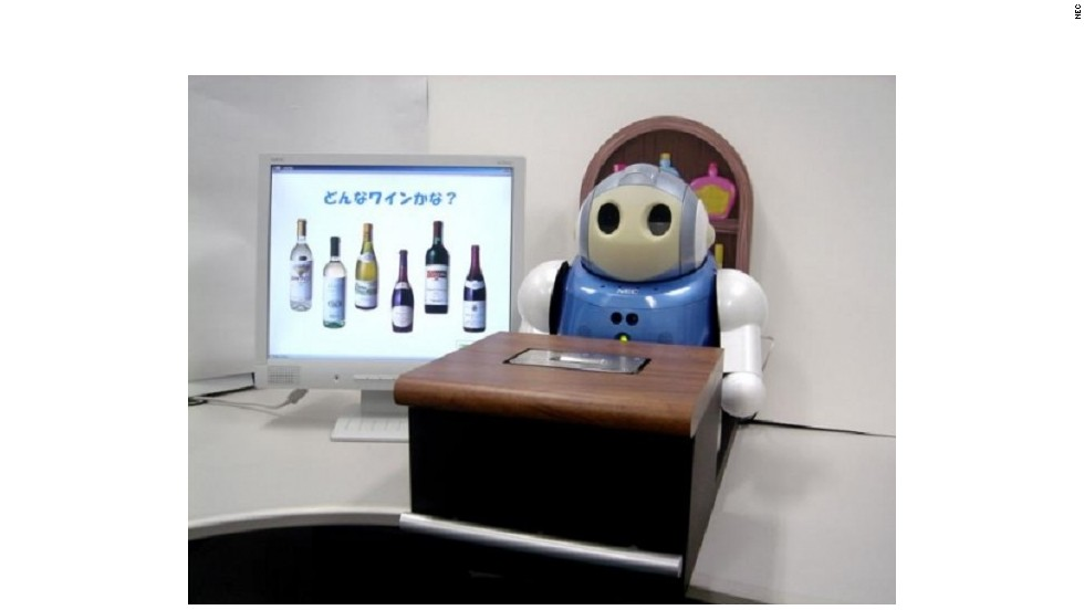 "But humans aren't the only ones having fun: some robots have now got a taste for the booze themselves. Scientists in Japan have developed the wine-tasting ""Robot sommelier"", which has a sensor capable of distinguishing between varieties of wine. Très bien."