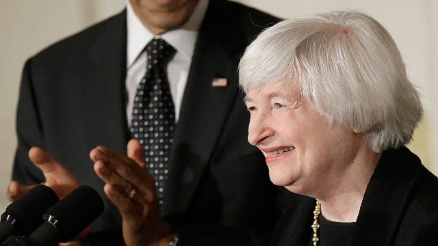 Forward thinking is Yellen's trump card