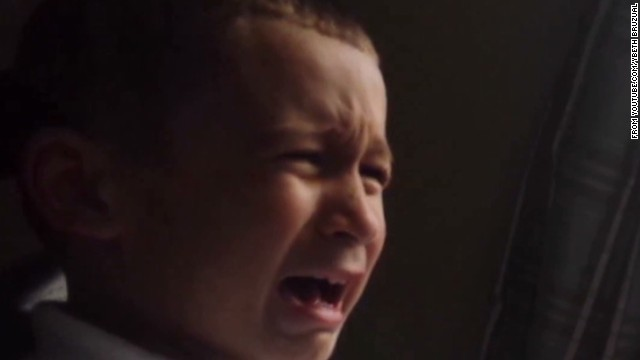 5-year-old distraught over shutdown