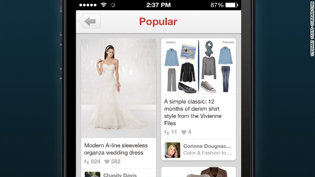 Pinterest: The genteel spot for image sharing, but not all the posts are polite.
