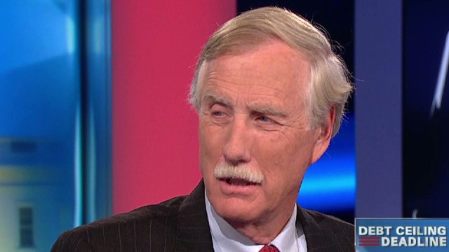 Lead intv Sen Angus King debt ceiling shutdown _00040725.jpg