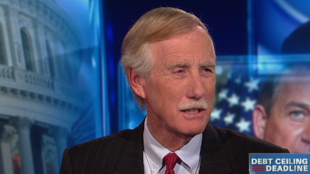 Lead intv Sen Angus King debt ceiling entitlement reform _00020213.jpg