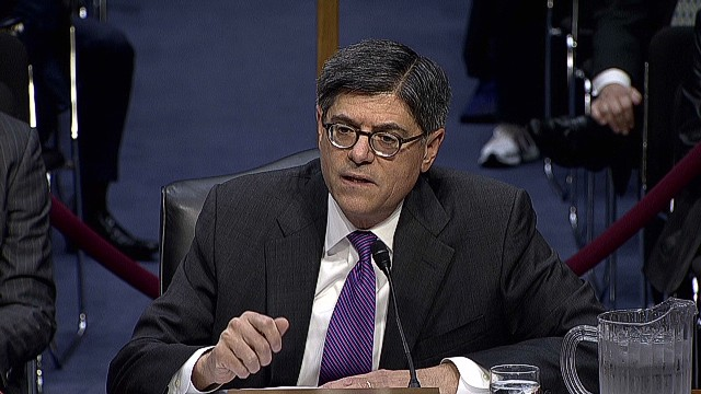 Jack Lew: Stop being 'reckless' on debt