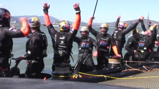 Incredible comeback at America's Cup