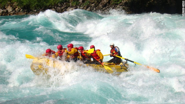 White water riders.