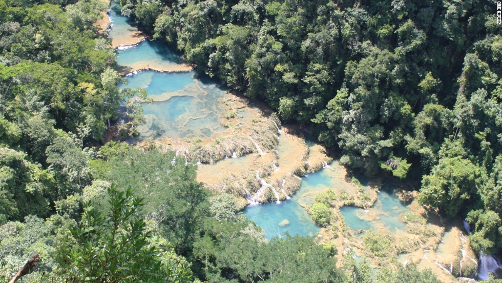 Never heard of it? Few had, until a few years back, when a section of the Rio Cahabón's densely forested pathway through central Guatemala was forged as a key stop on the Central American backpacker trail. Known as Semuc Champey, the series of spectacular steeped limestone pools bridging over the river are accessed via a hiking trail near the village of Lanquin.