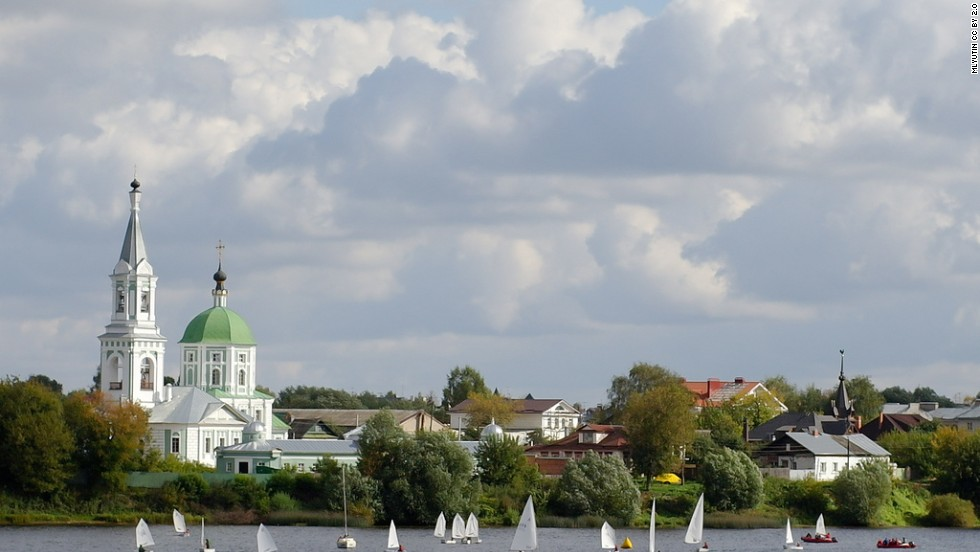 """Mother Volga"" houses 11 of Russia's 20 largest cities on its banks, which explains its popularity among the cruise set. Most tour boats ply a section of the Volga just north of Moscow before traveling on to St. Petersburg via a series of interconnected waterways, taking in major cities alongside quaint riverside towns sprinkled with historic Kremlins and brightly colored onion-domed churches."