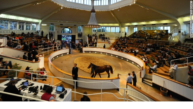 The October yearlings sale at Tattersalls has seen a number of auction records broken in brisk trade.