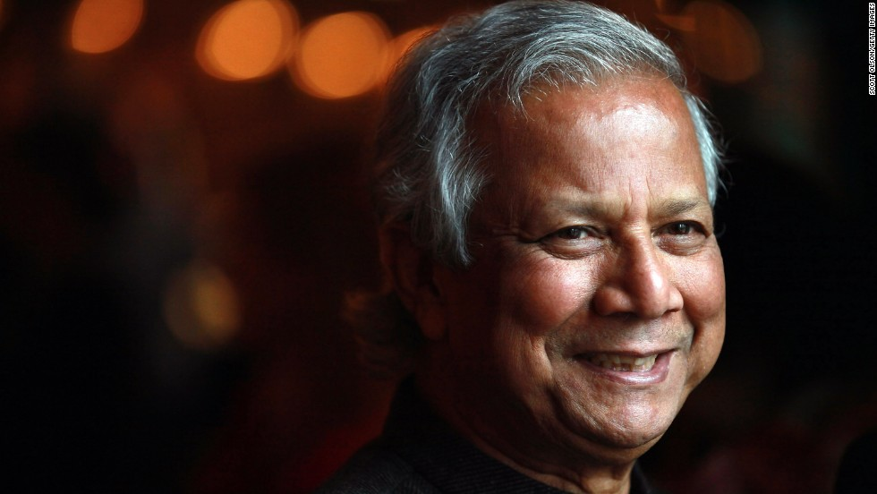 Muhammed Yunus and Grameen Bank won the Nobel Peace Prize in 2006.