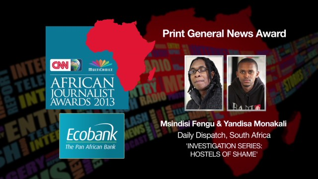 AJA 2013: Print General News Award