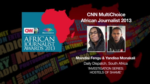 AJA 2013: African Journalist of the Year