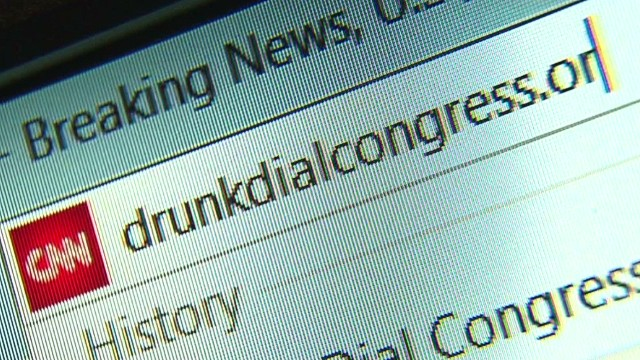 Fed up with Congress? Drunk dial them!