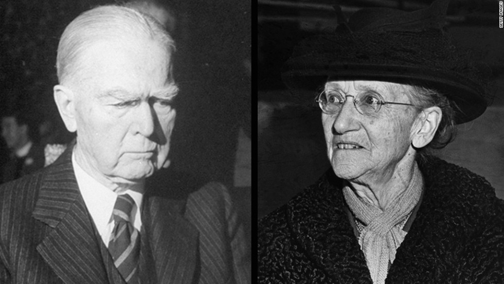 John Raleigh Mott, left, and Emily Greene Balch won the Nobel Peace Prize in 1946. Mott won for his contributions to the creation of a peace-promoting religious brotherhood across national boundaries. Balch won for unrelenting efforts to fight for peace.