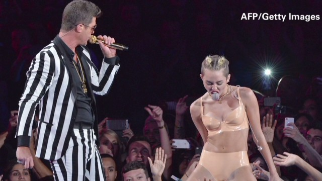 Robin Thicke: I'm just the 'twerkee'