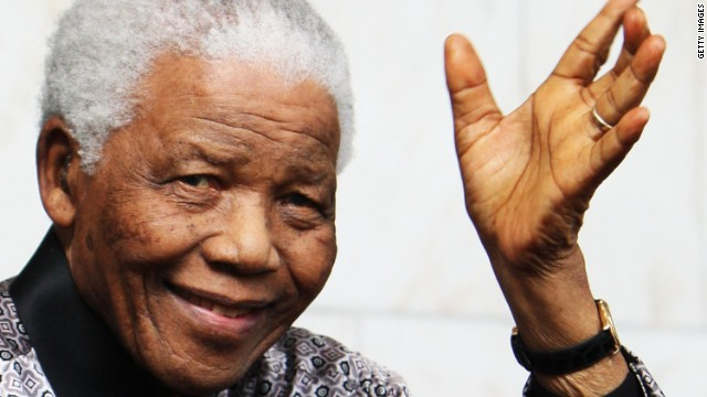 Nelson Mandela, the anti-apartheid campaigner, served as the first black President of South Africa between 1994 to 1999.