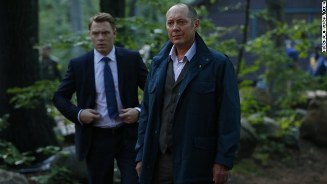 "NBC appears to have a hit with ""The Blacklist"" starring James Spader, right, and Diego Klattenhoff."