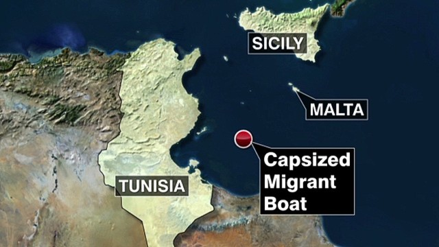 Another boat disaster near Lampedusa