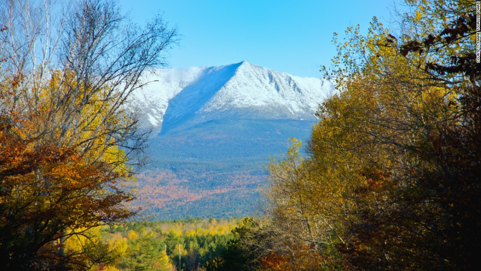 Enjoy a small portion of the Appalachian Trail while visiting Baxter State Park.